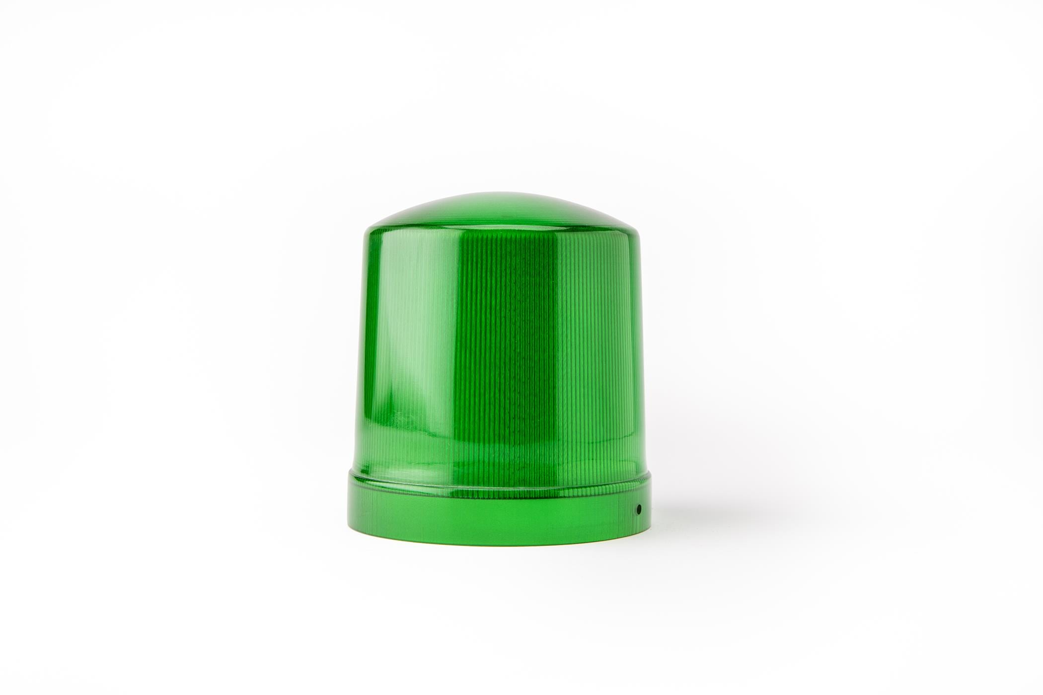 Green Light Cover 3D Print Color Stratasys