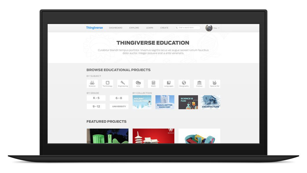Thingiverse Education Resources