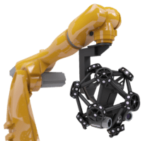 Metrascan_R Robotic Arm 3D Scanner
