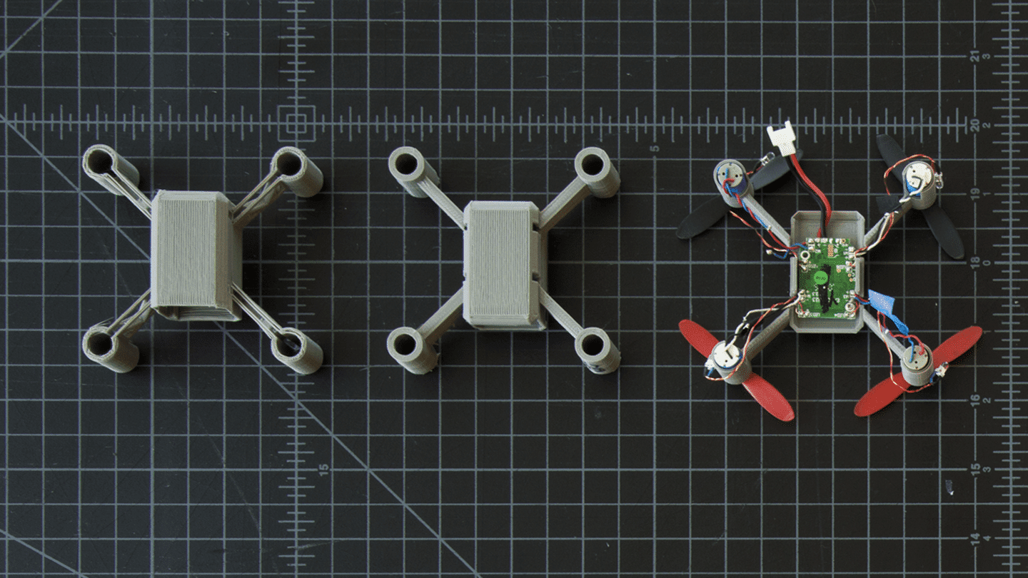 MakerBot Drone Prototype Iterations