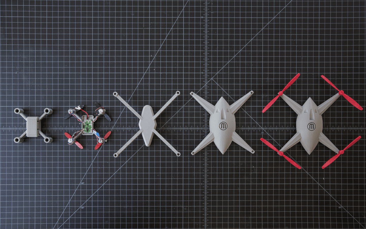 MakerBot Drones Multiple 3D Print Easy Prototyping