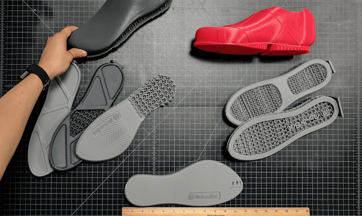 MakerBot Running Shoe Prototype Iterations
