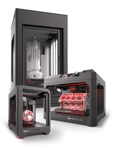 MakerBot Z18 Replicator Plus Replicator Mini 3D Printers