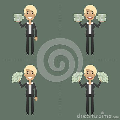 businesswoman-money-different-poses-illustration-format-eps-42815290