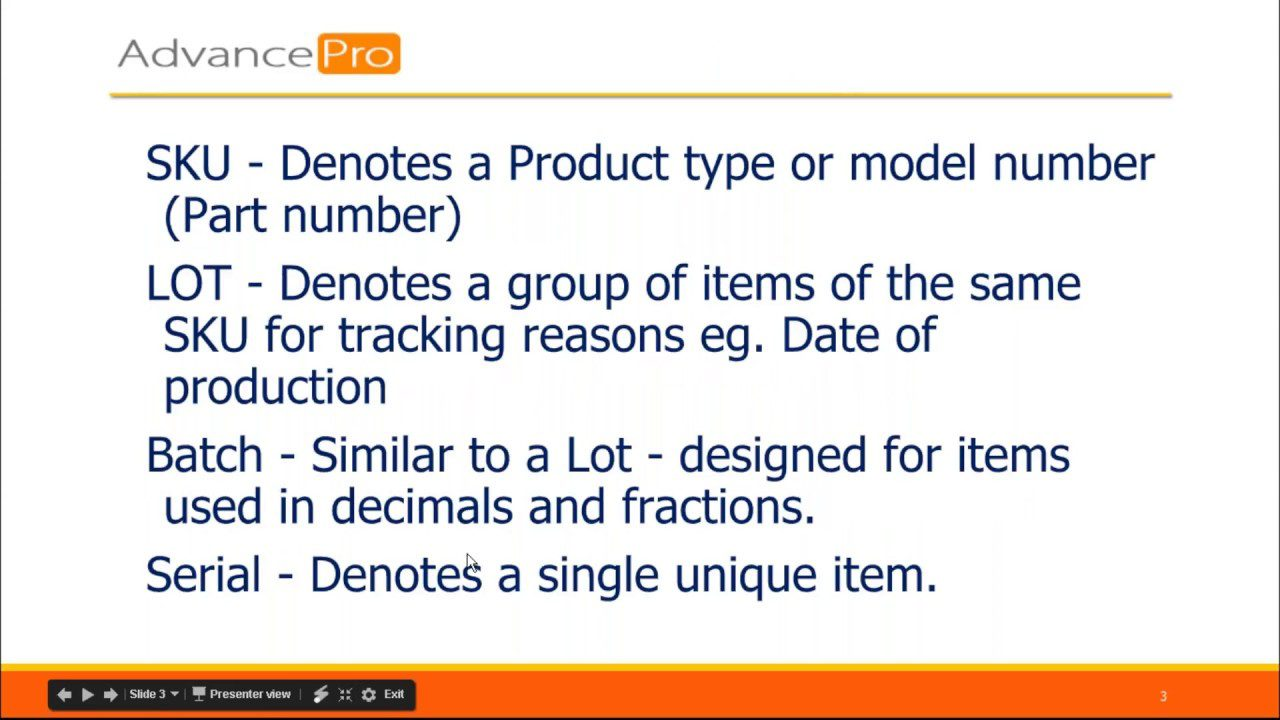 Tracking Serial Lot and Batch Numbers ythumbnail