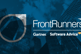 gartner frontrunners award software advice